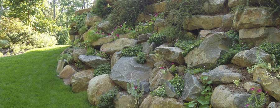 Boulders Gregs Landscaping