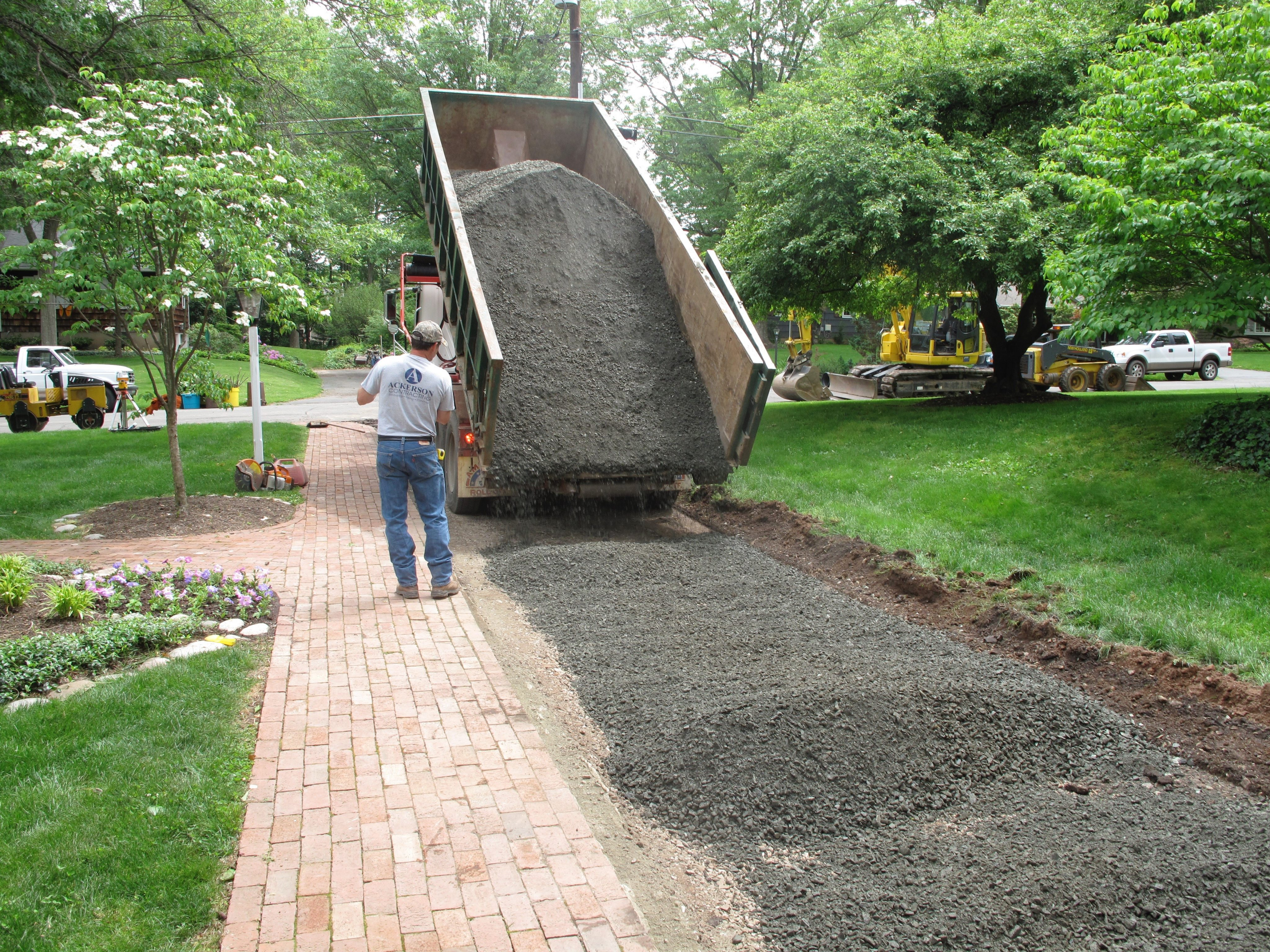 Crushed Stone Gregs Landscaping